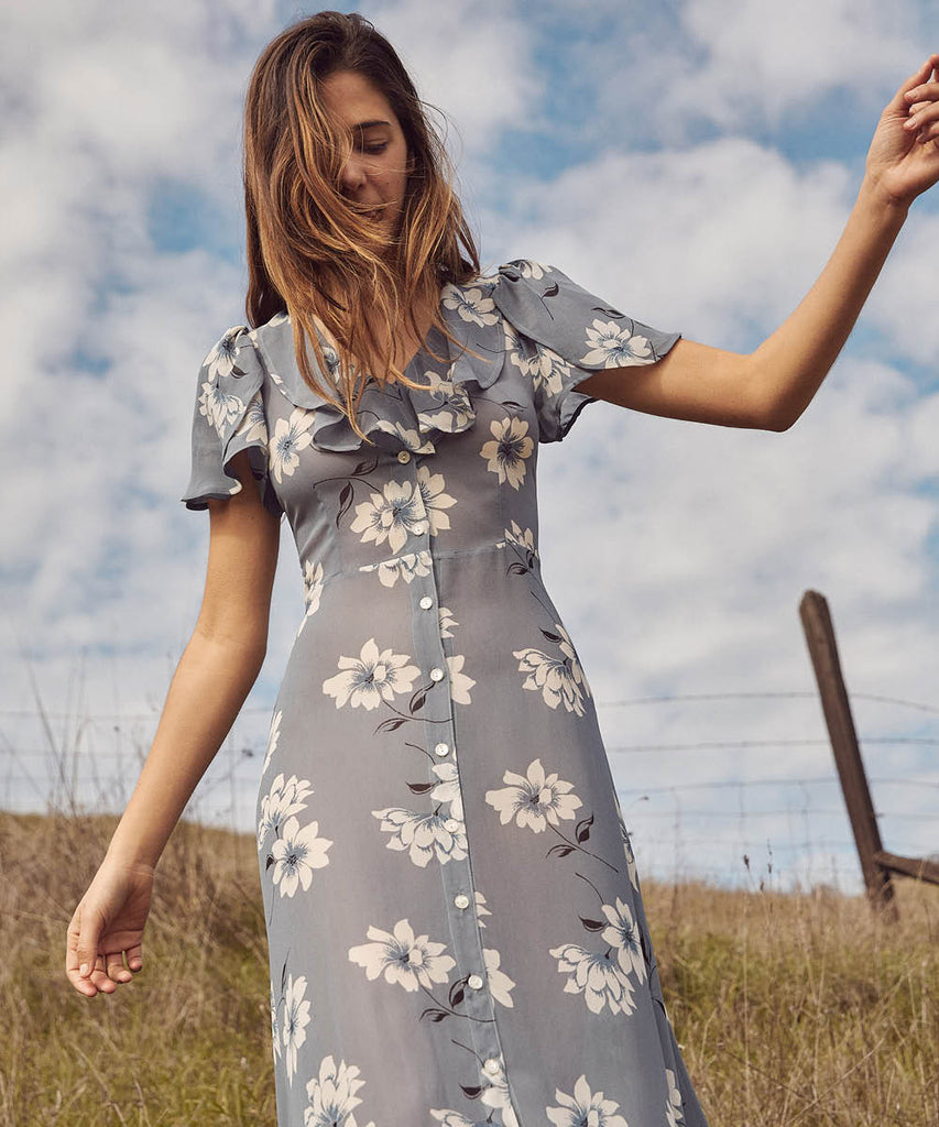 The Daisy Dress | Floral Mist image 14