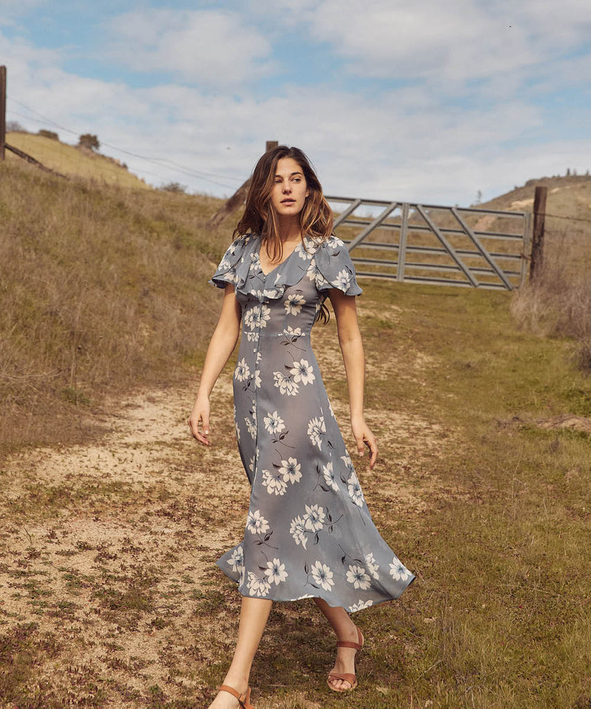 The Daisy Dress | Floral Mist image 16