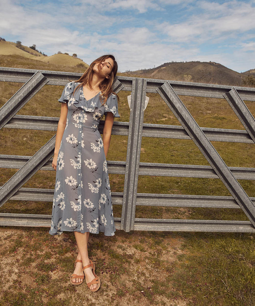 The Daisy Dress | Floral Mist image 18