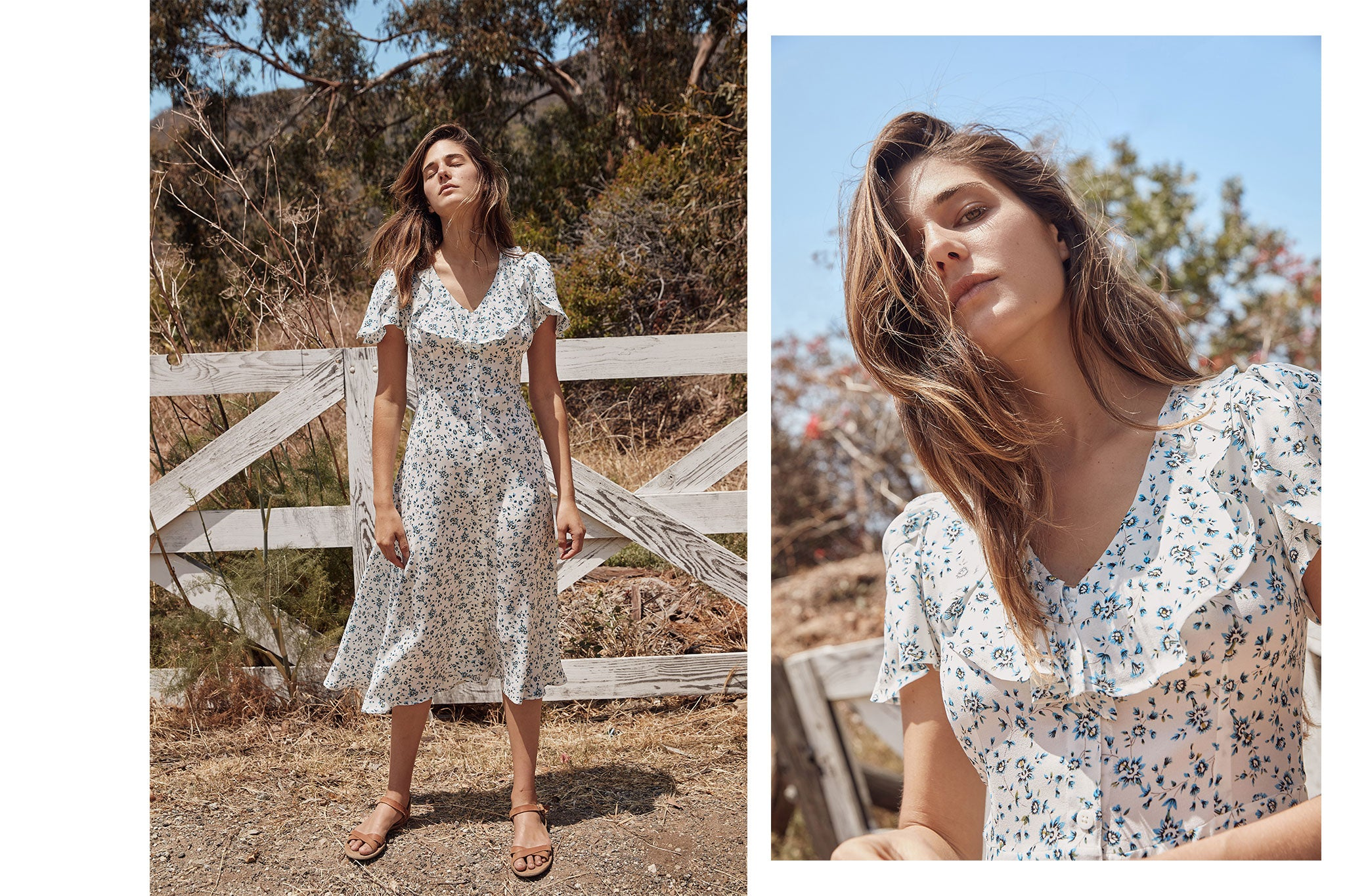 The Daisy Dress | Cerulean Daffodil