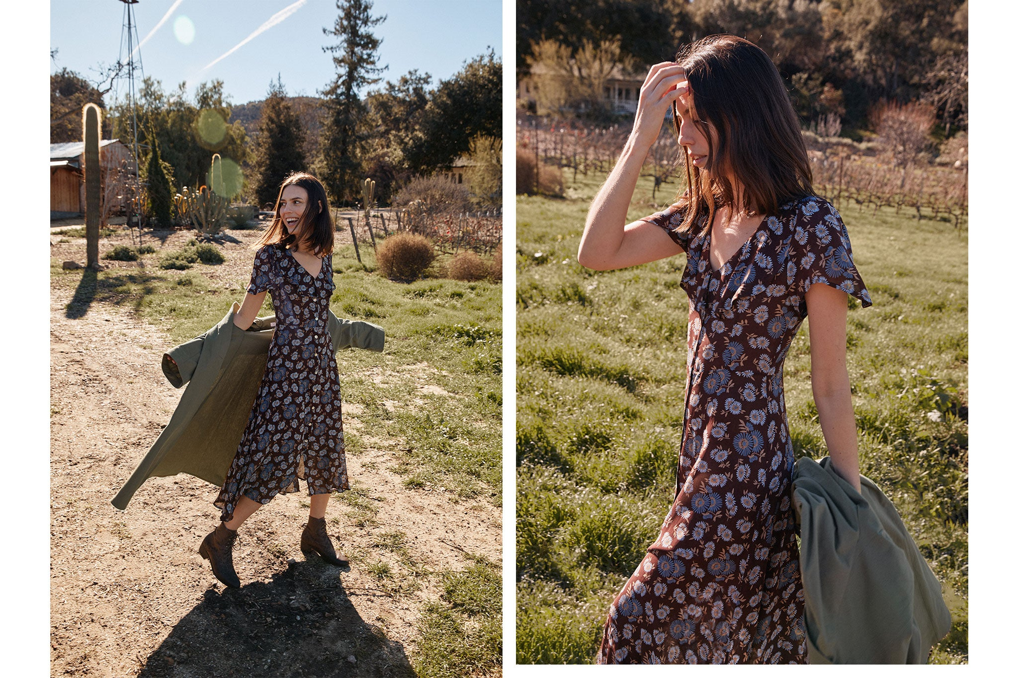 The Daisy Dress | Carob Daisy