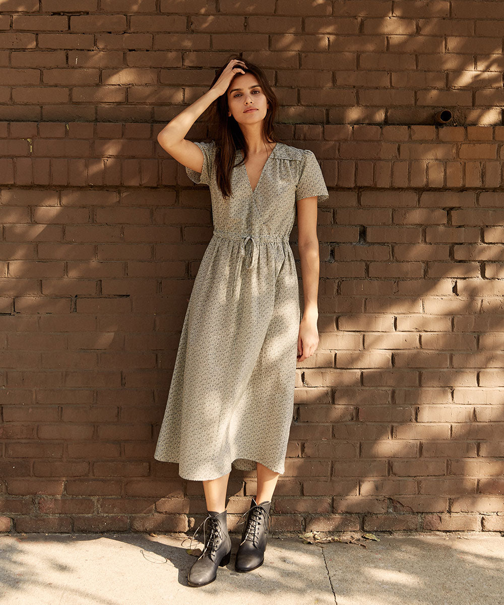 The Dawn Dress | Juniper Ditsy