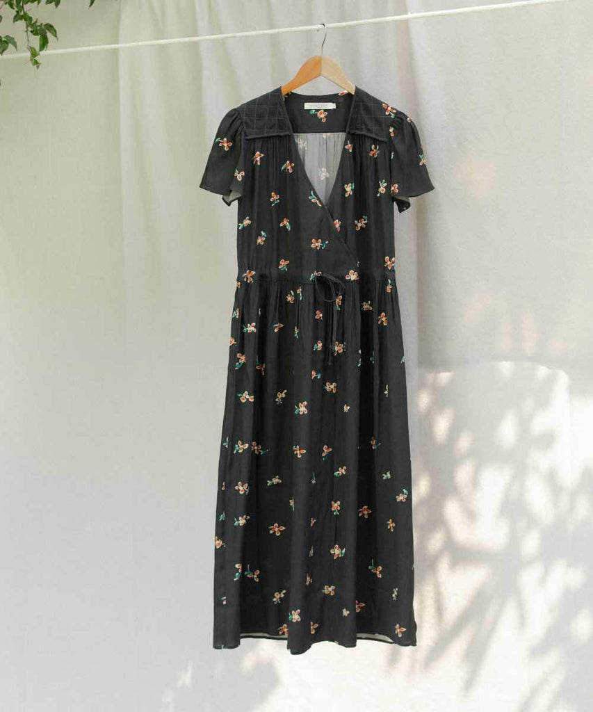 The Dawn Dress | Noir Garden (1-of-a-Kind)