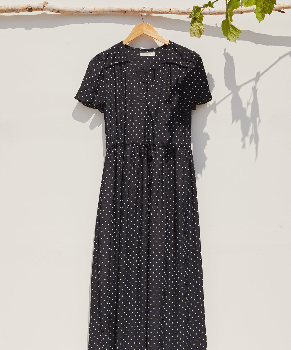 The Dawn Dress | Noir Dot