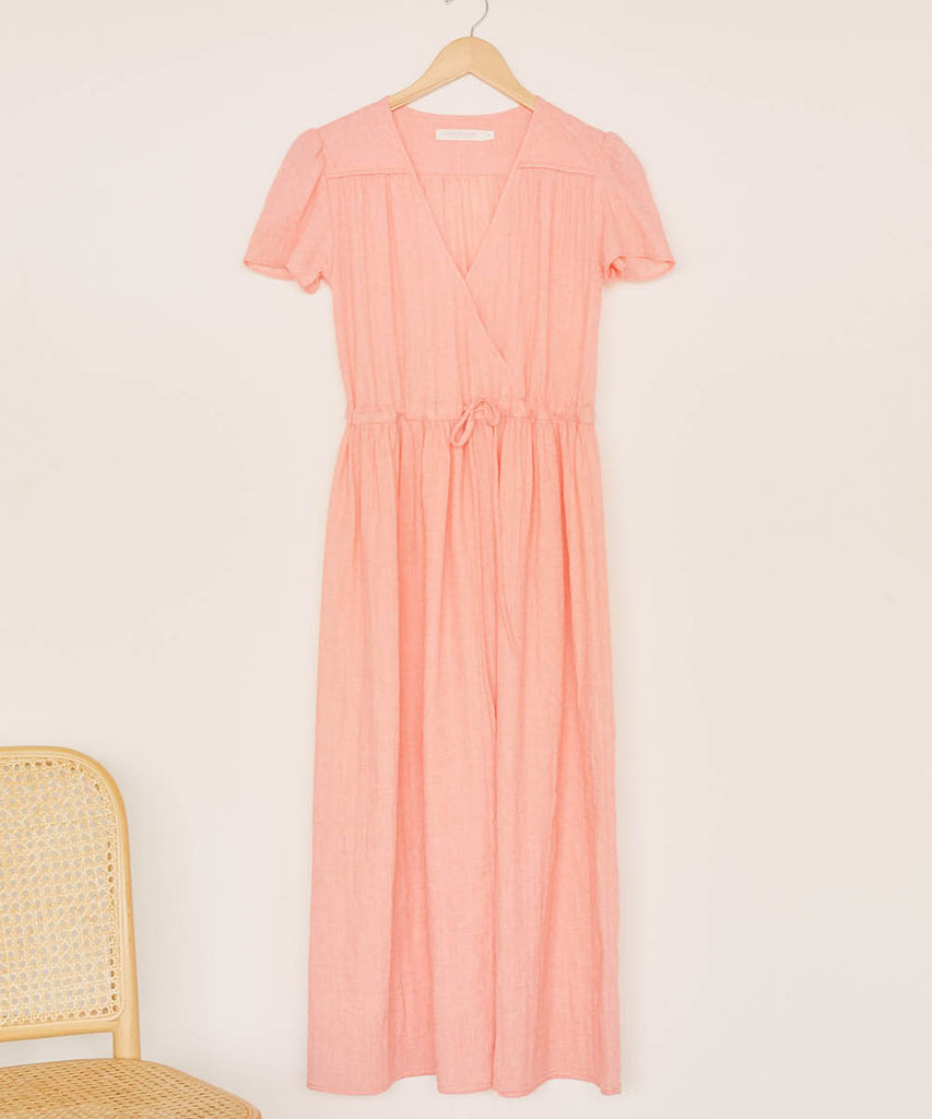 The Dawn Dress | Coral image 2