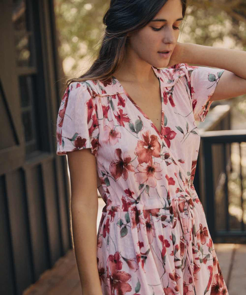 The Dawn Dress | Peach Bouquet
