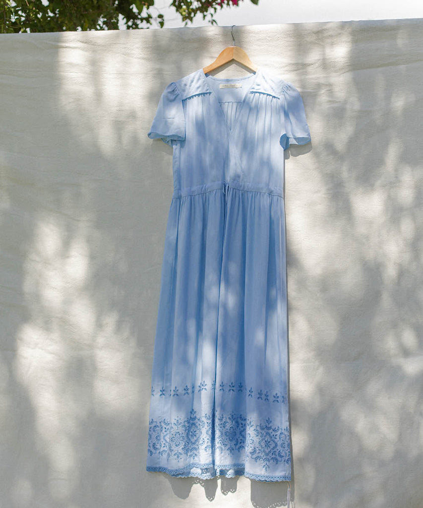 The Dawn Dress | Robin's Egg Embroider image 2