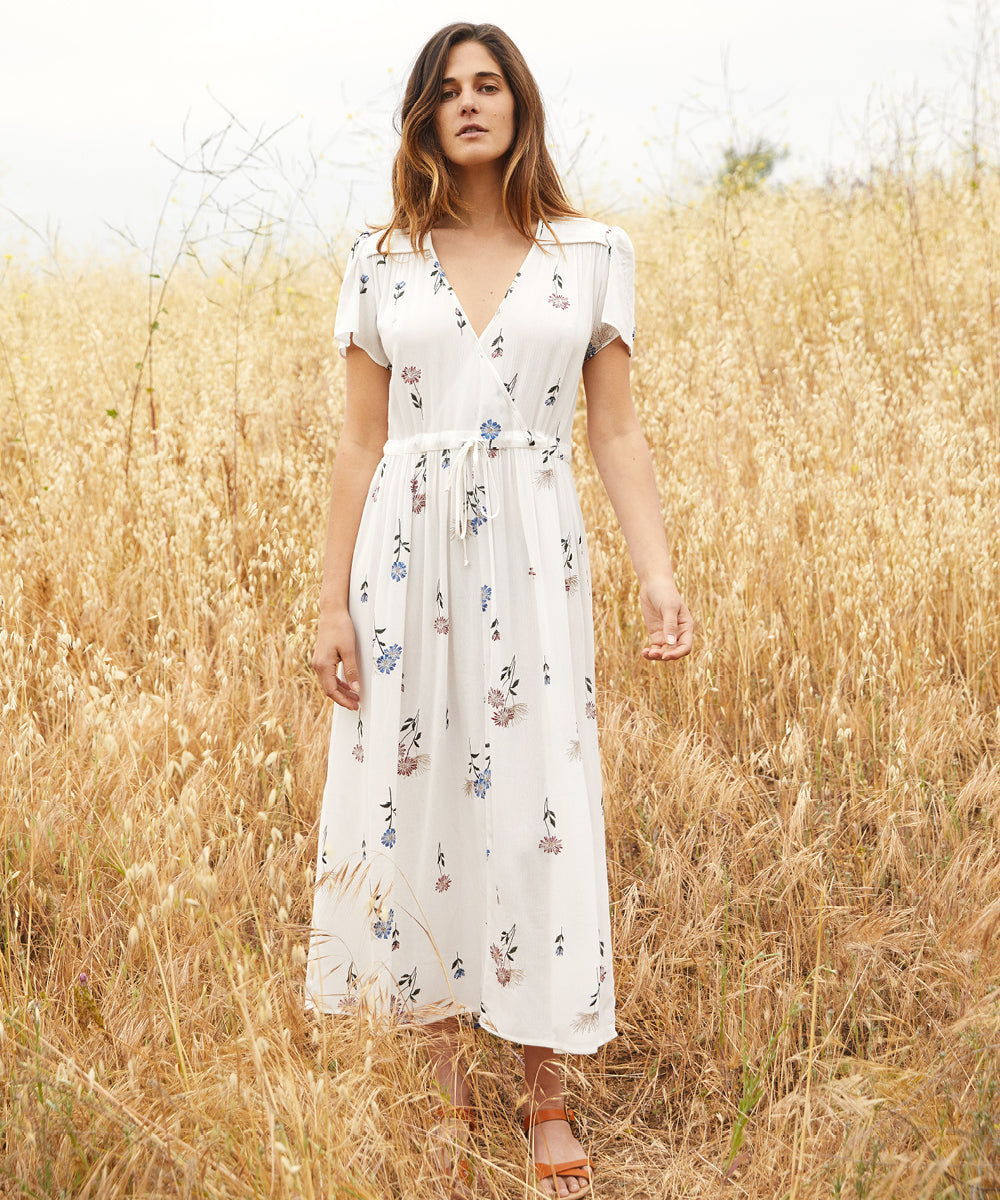The Dawn Dress | Wildflower Embroider
