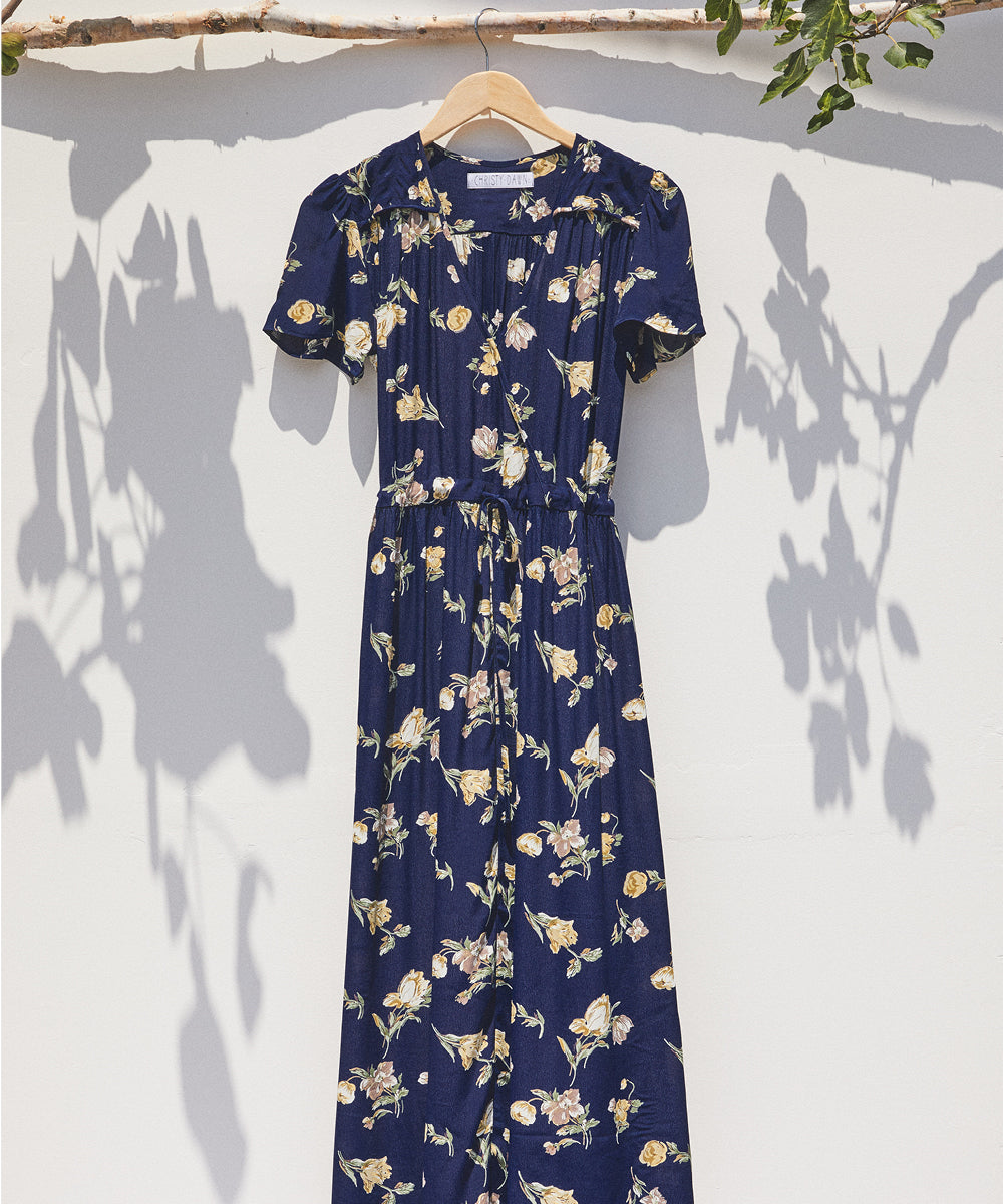 The Dawn Dress | Midnight Poppy