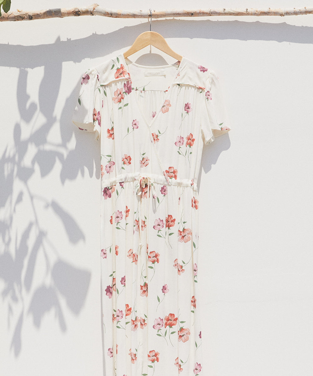 The Dawn Dress | Pink Anemone