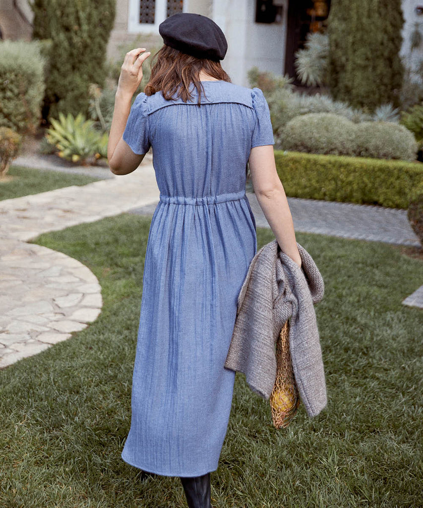The Dawn Dress | Washed Blue