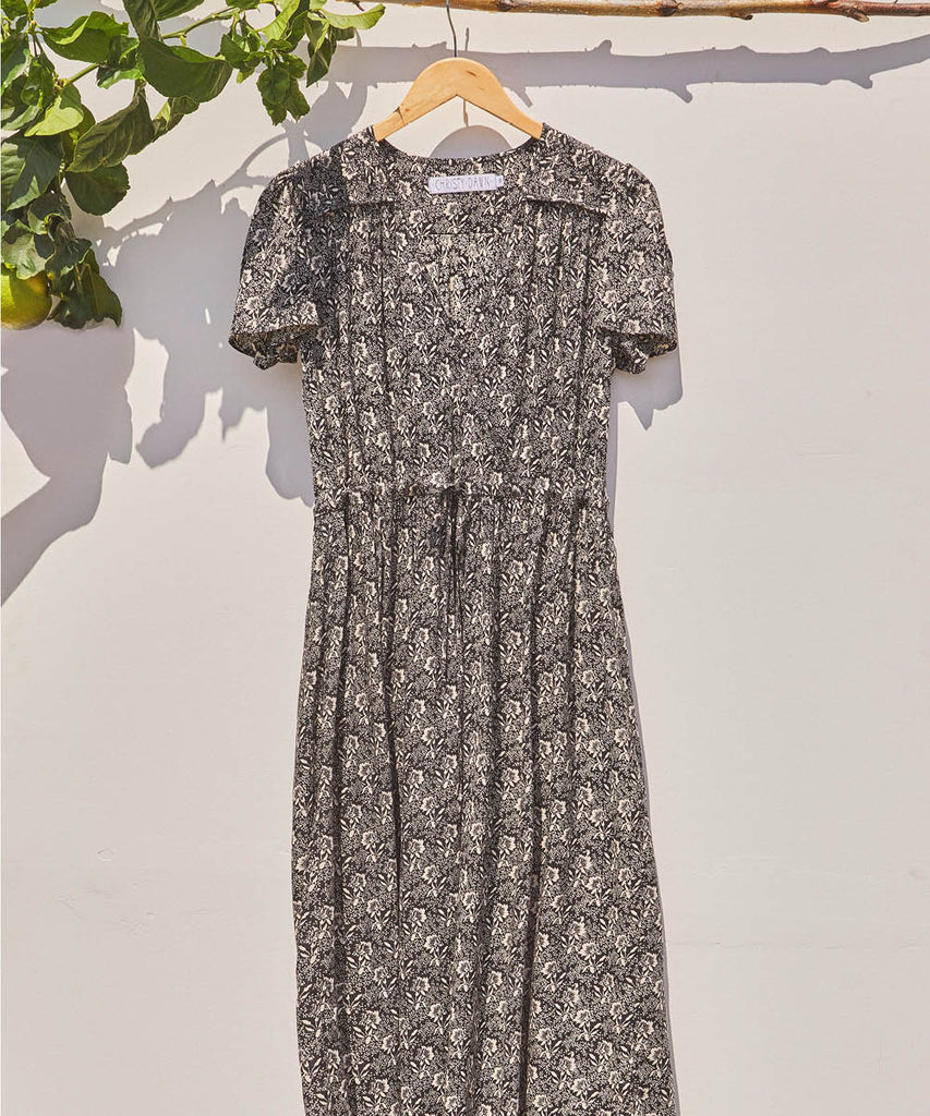 The Dawn Dress | Raven Floral