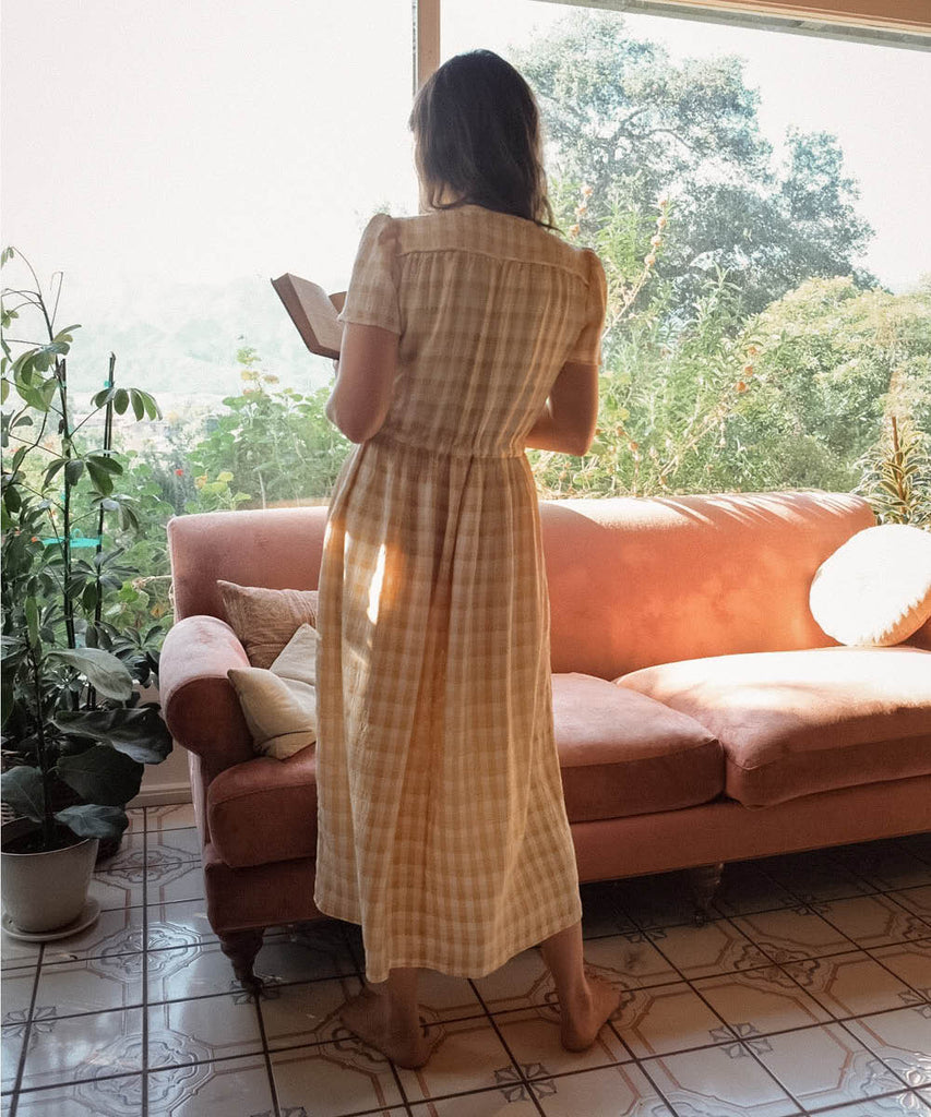 The Dawn Dress | Honey Checker