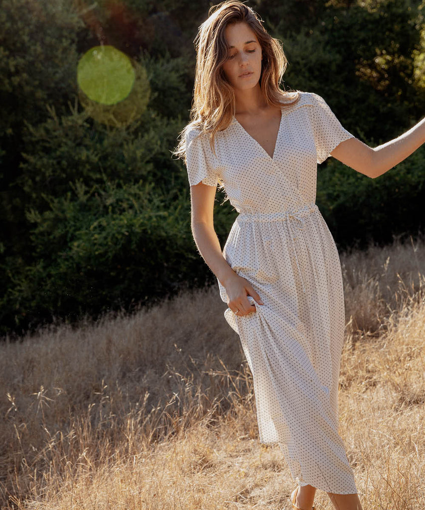 The Dawn Dress | Ivory Ditsy image 5