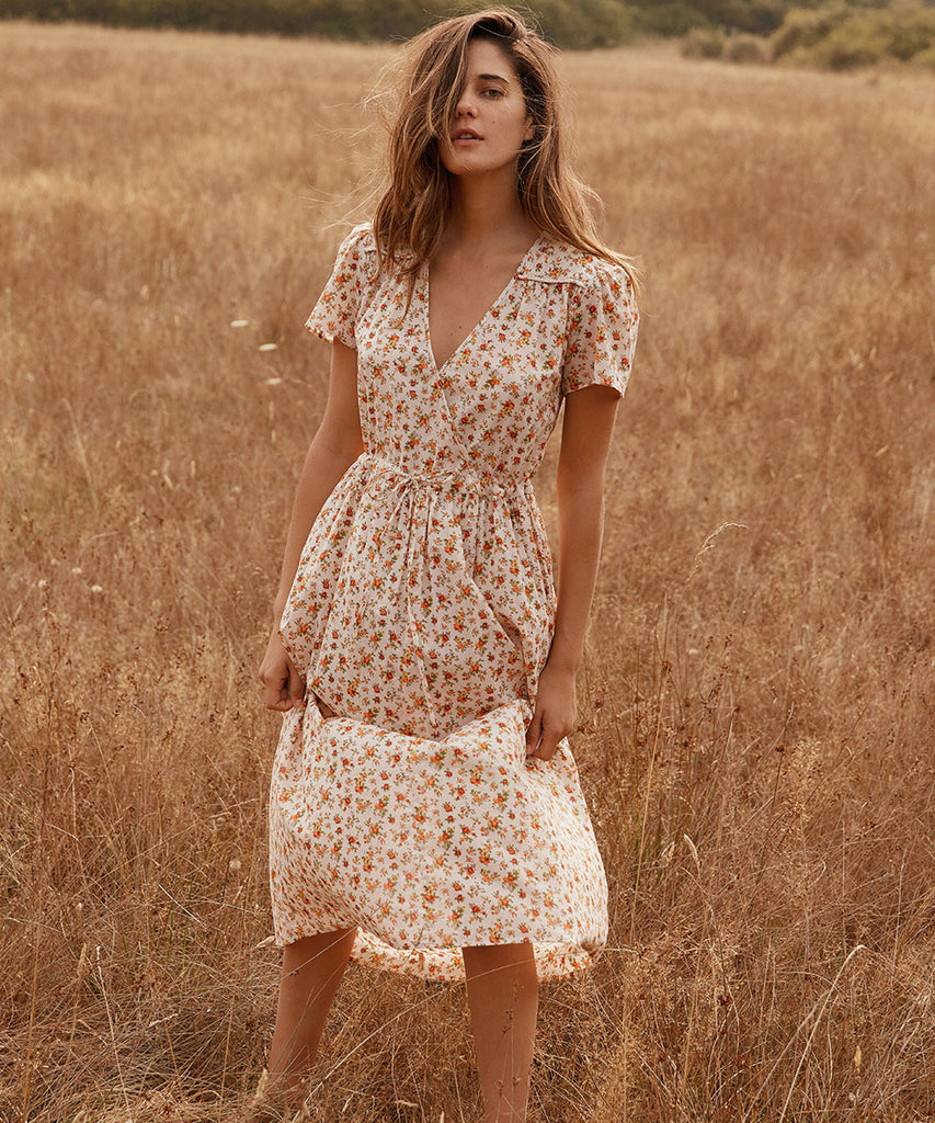 The Dawn Dress | Fall Calico image 12