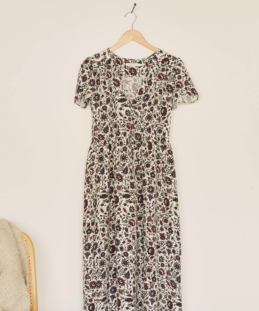 The Dawn Dress | Mahogany Vine image 7