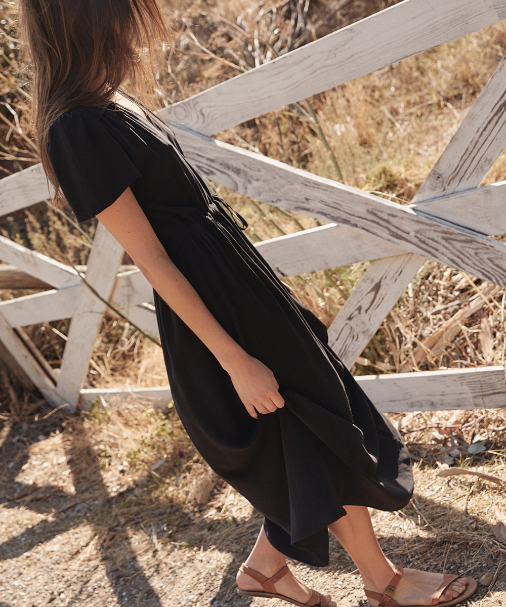 The Dawn Dress | Charcoal