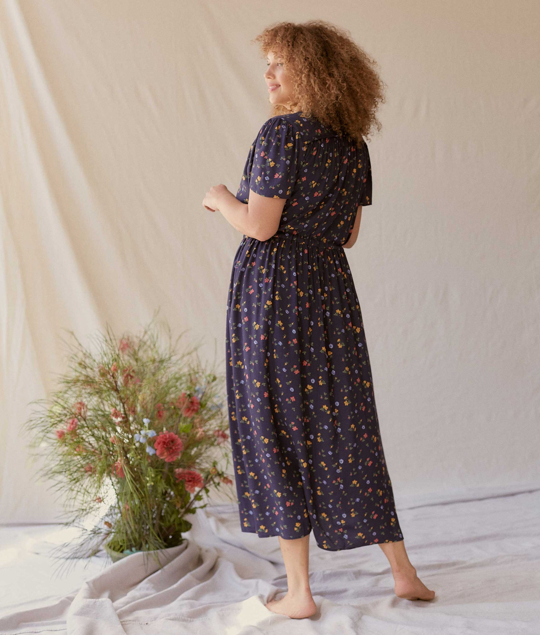 The Dawn Dress | Ditsy Floral