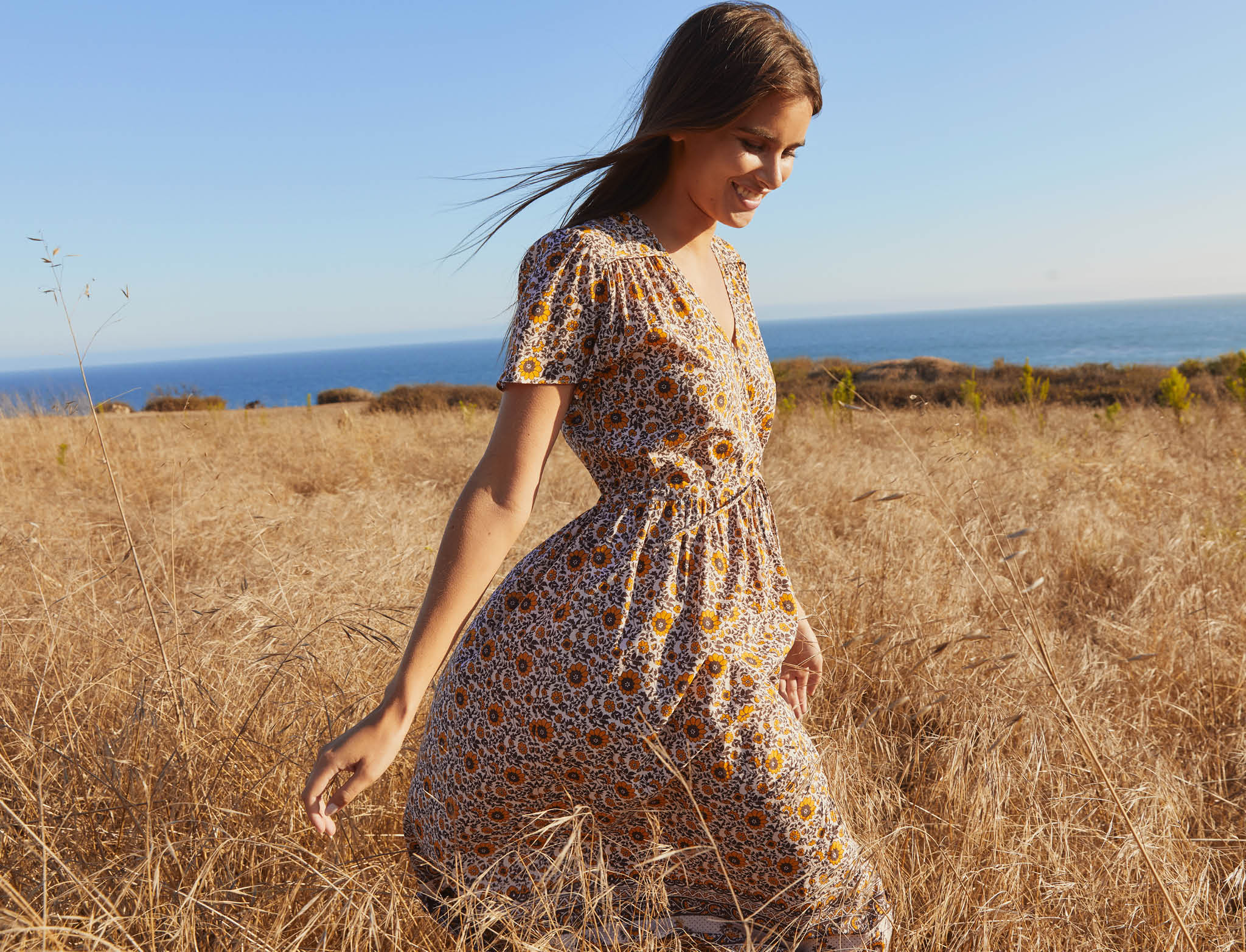 The Dawn Dress | Golden Sunflower