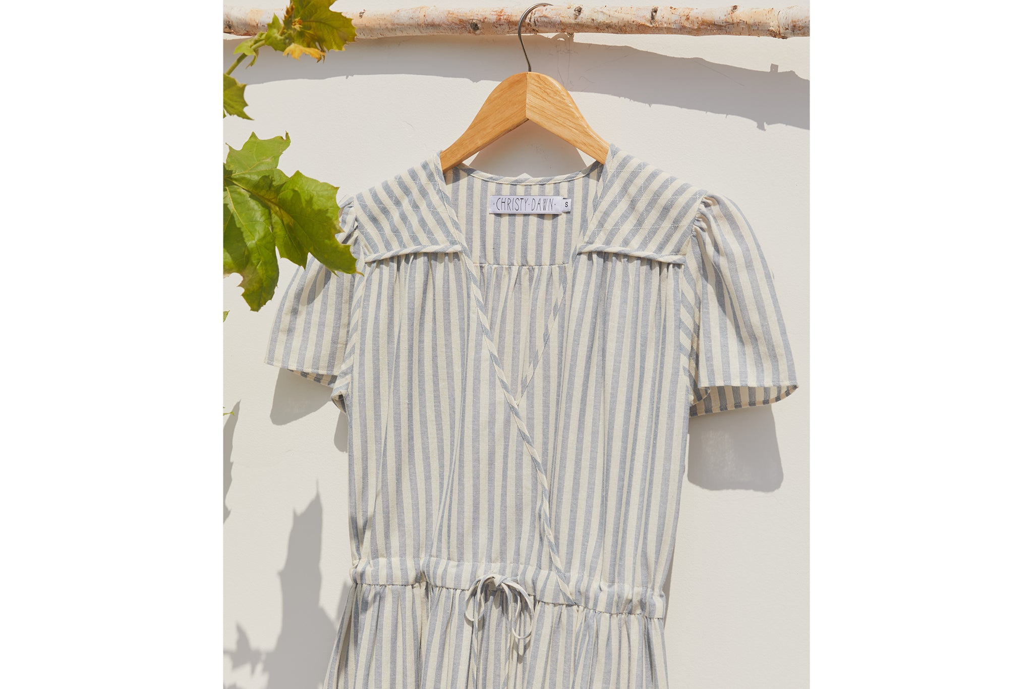 The Dawn Dress | Washed Sea Stripe