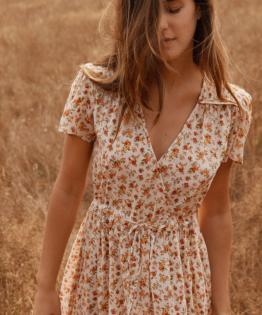 The Dawn Dress | Fall Calico image 13