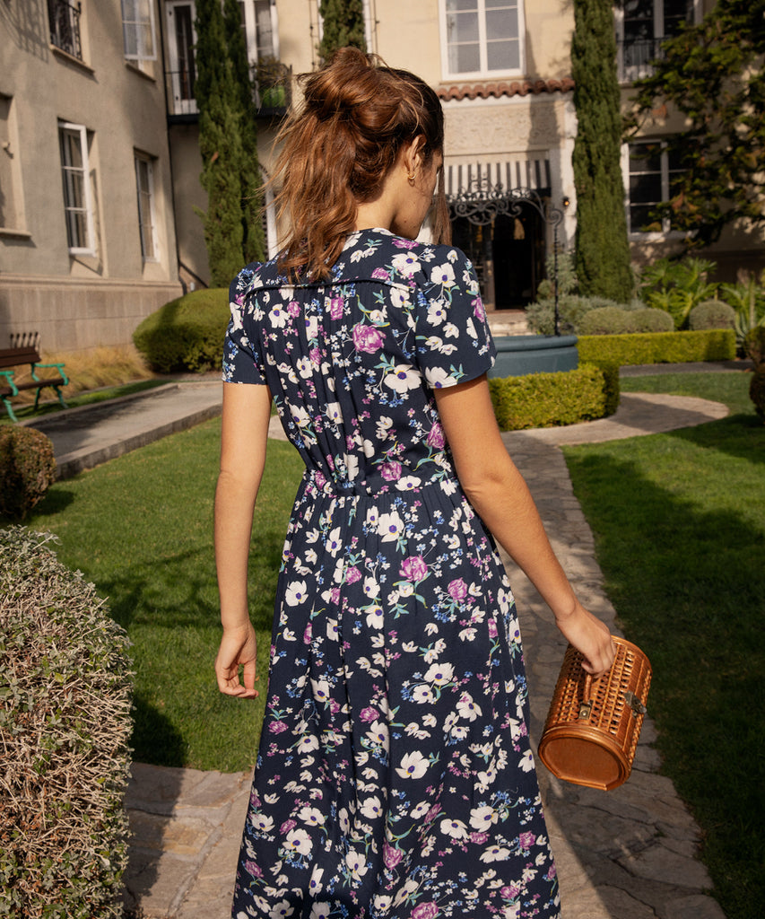 The Dawn Dress | Midnight Wildflower