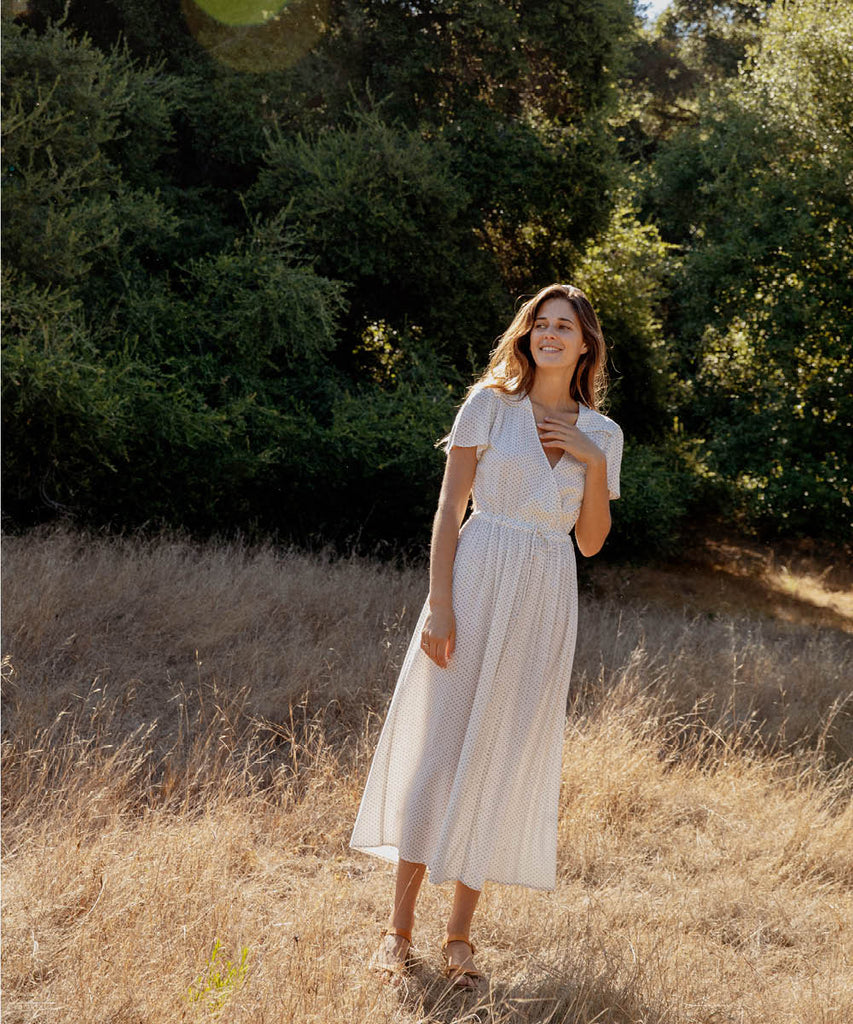 The Dawn Dress | Ivory Ditsy image 7