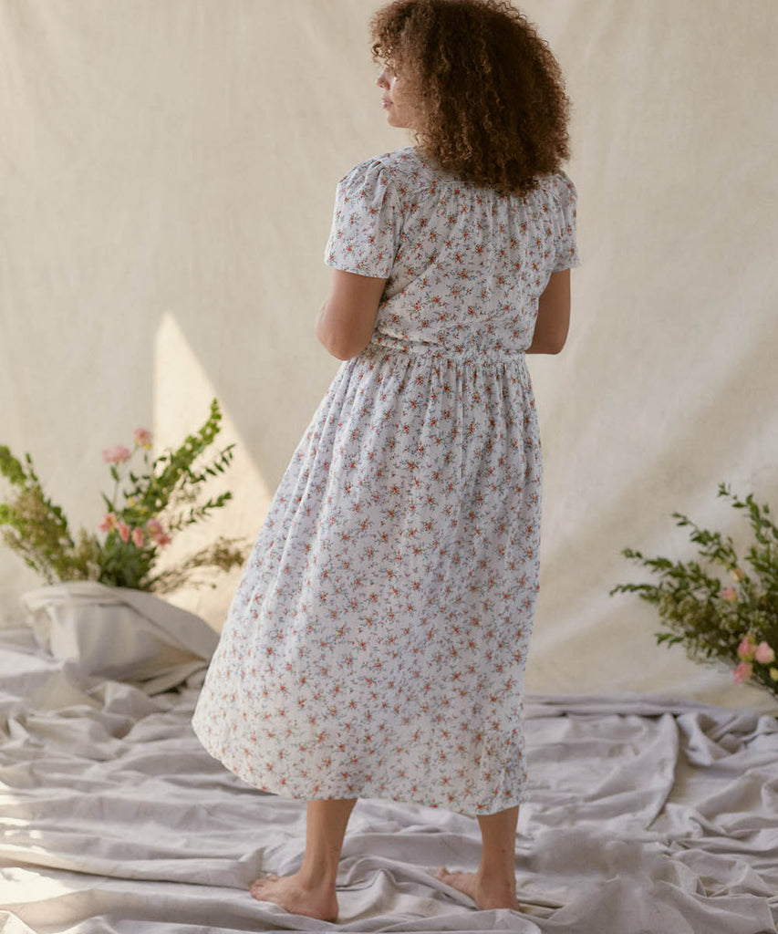 The Dawn Dress | Primrose Bouquet (Lined)