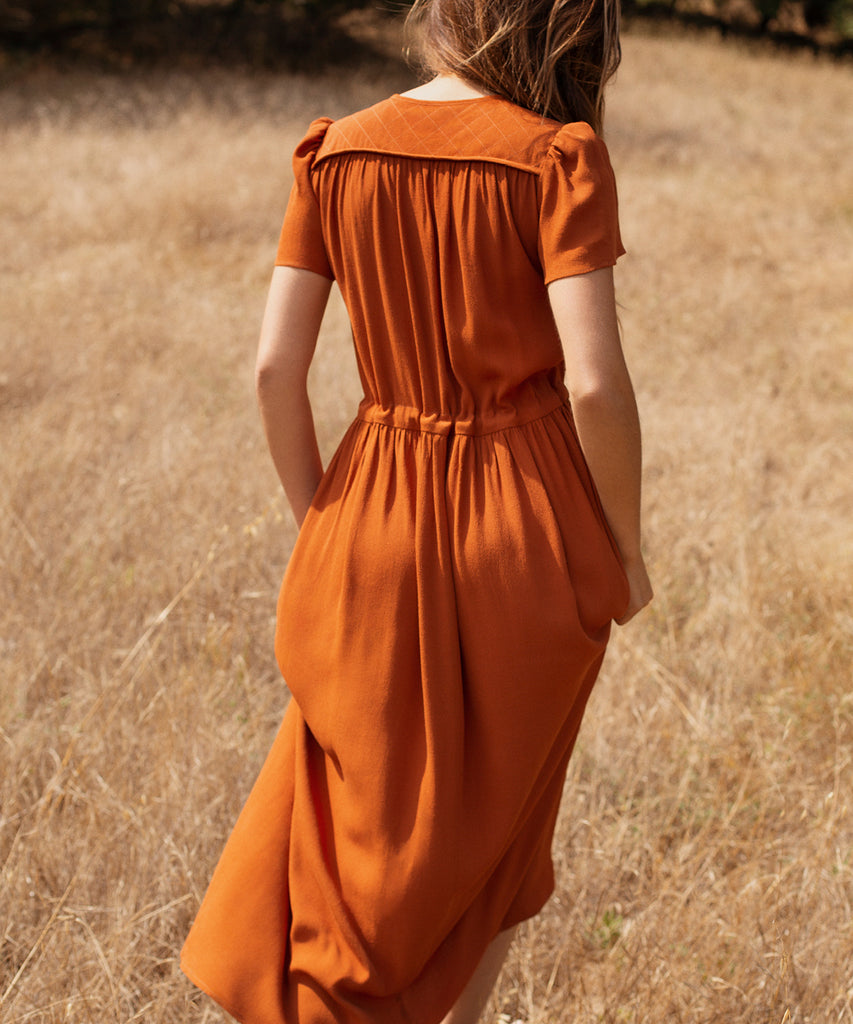 The Dawn Dress | Rust image 10
