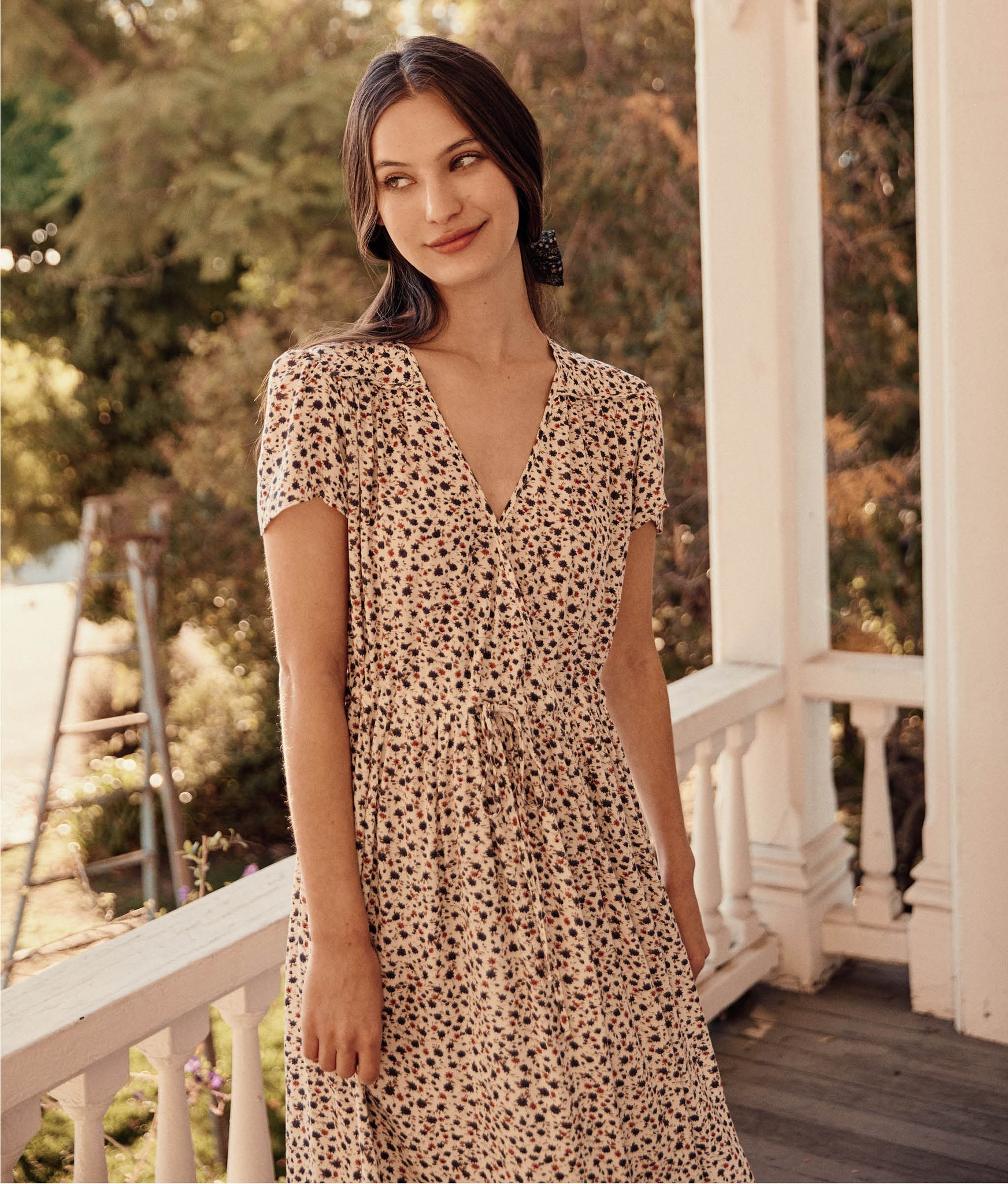 The Dawn Dress Petites | Geranium Calico