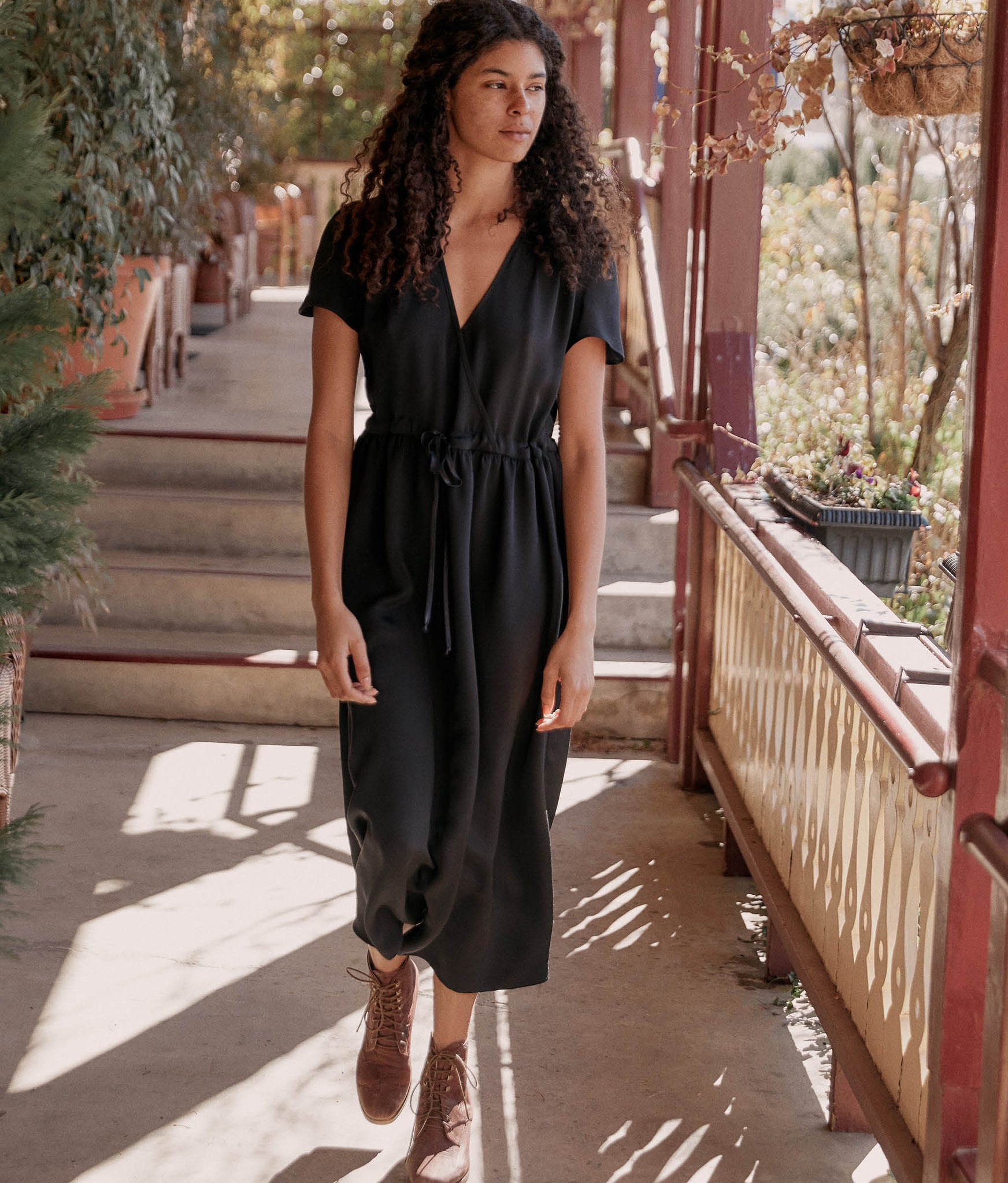 The Dawn Dress | Night Silk