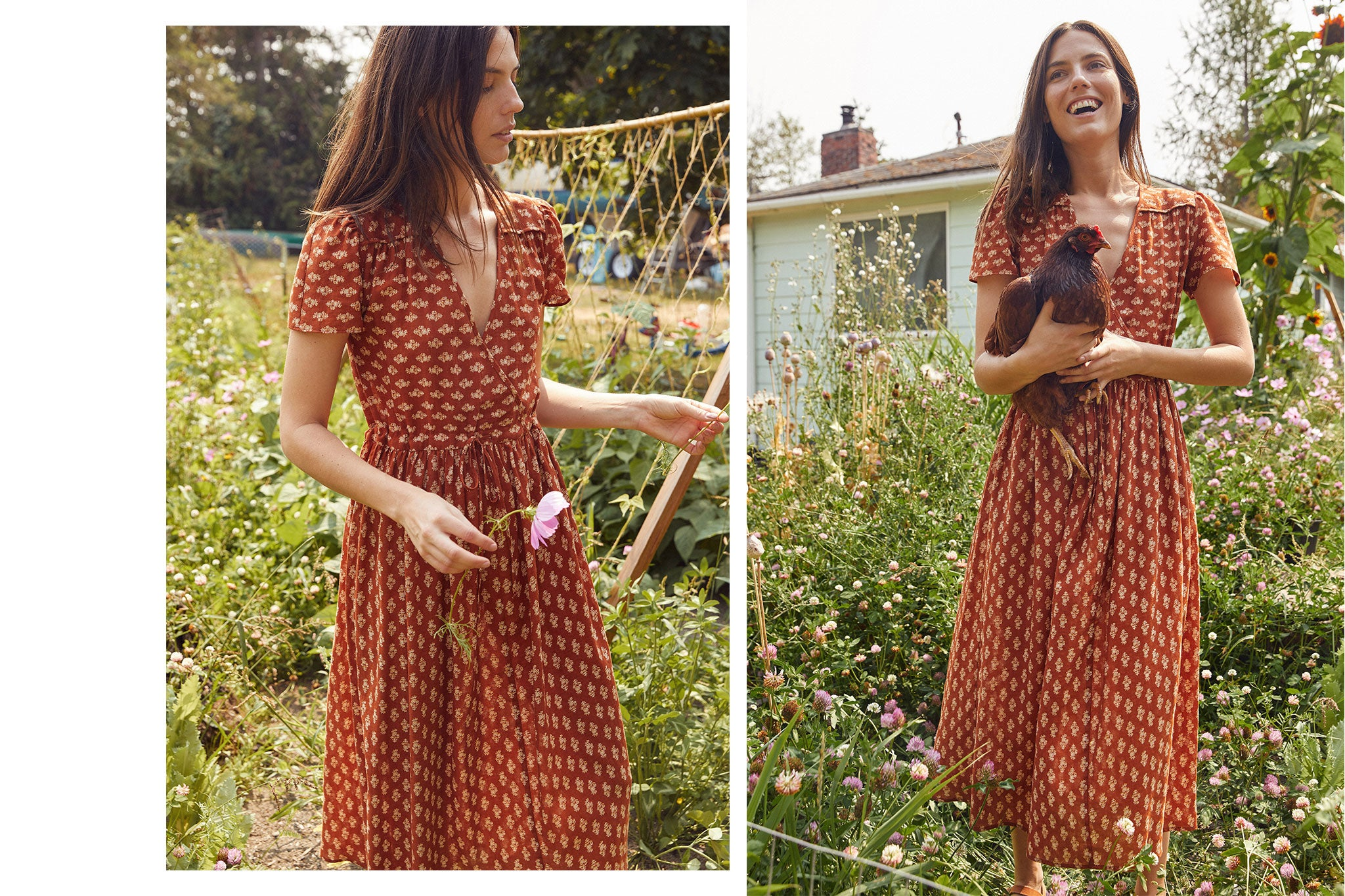 The Dawn Dress | Tikka Block