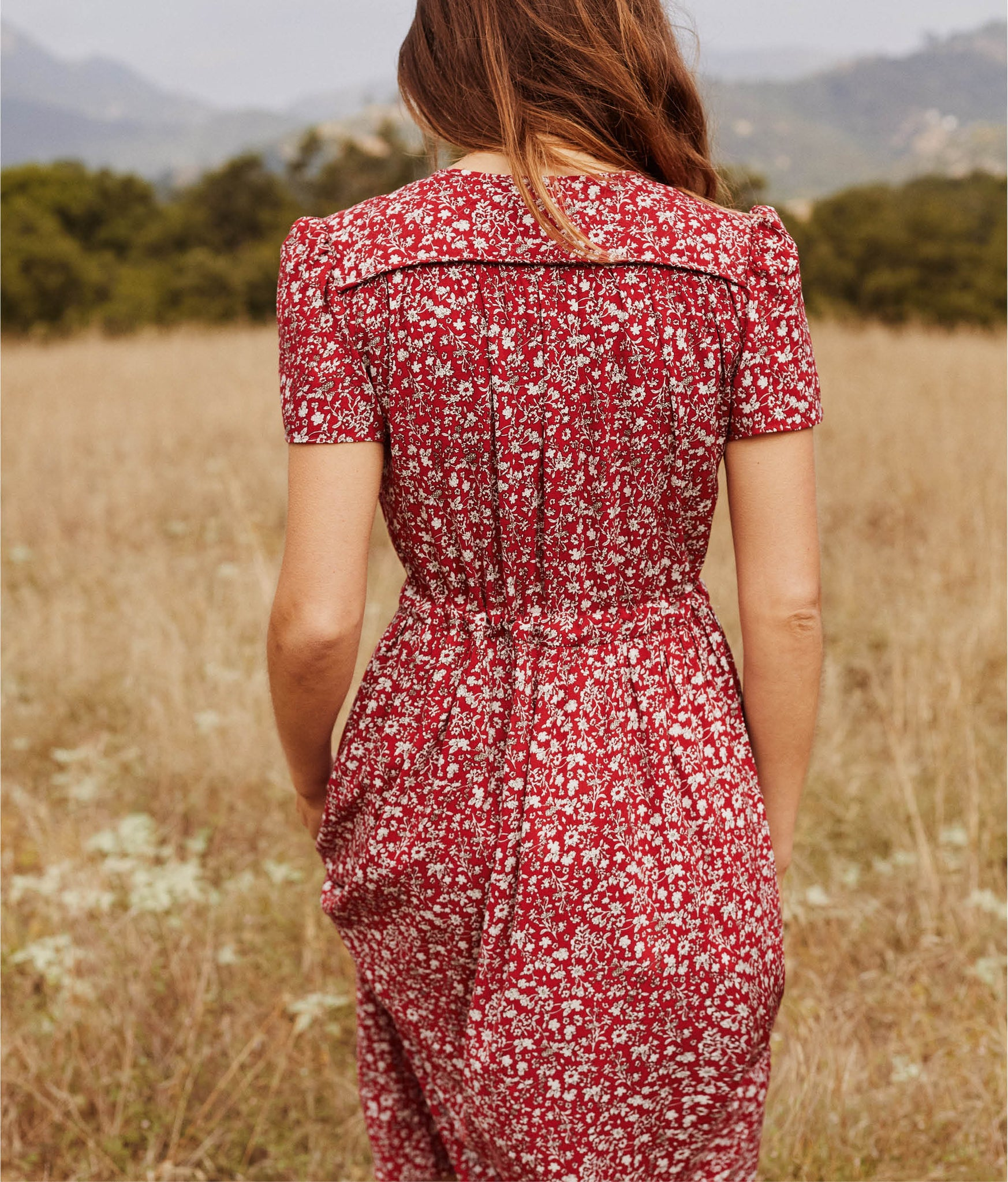 The Dawn Dress | Crimson Garden