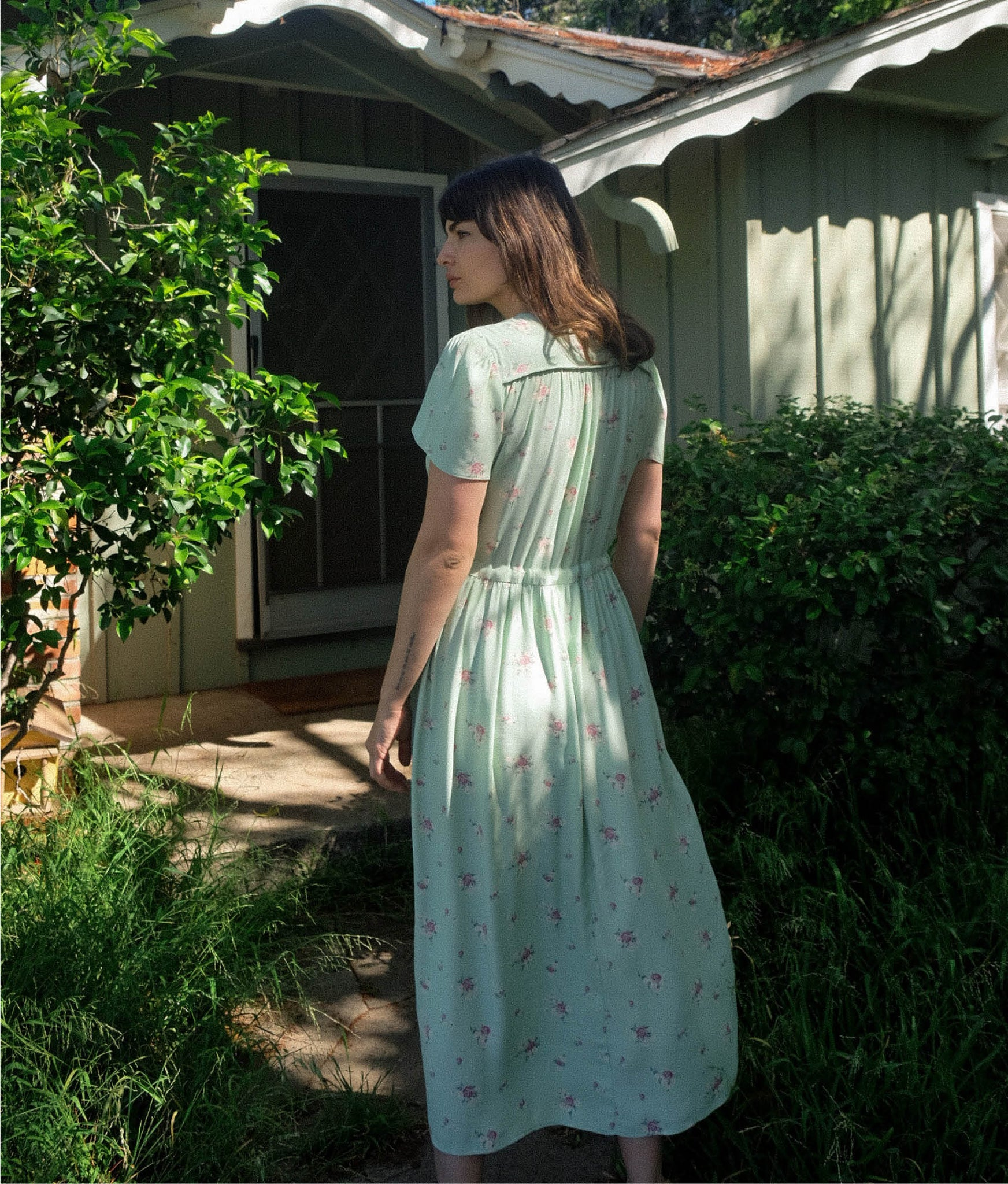 The Dawn Dress | Pear Spray