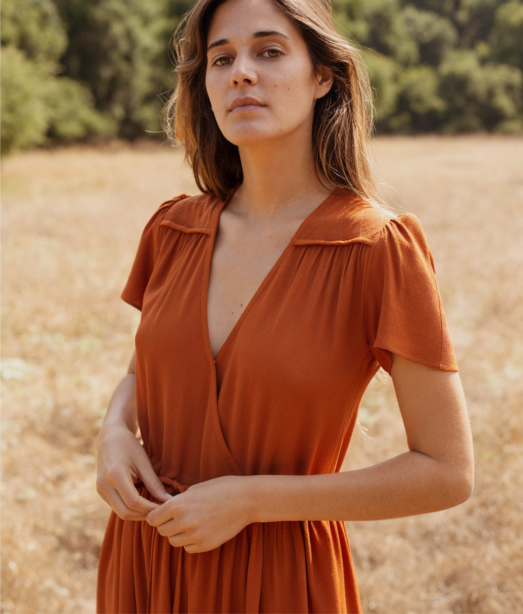 The Dawn Dress | Rust