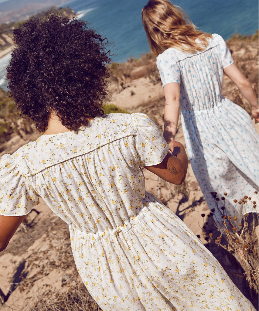 The Dawn Dress Petites | Chamomile (Lined) image 9