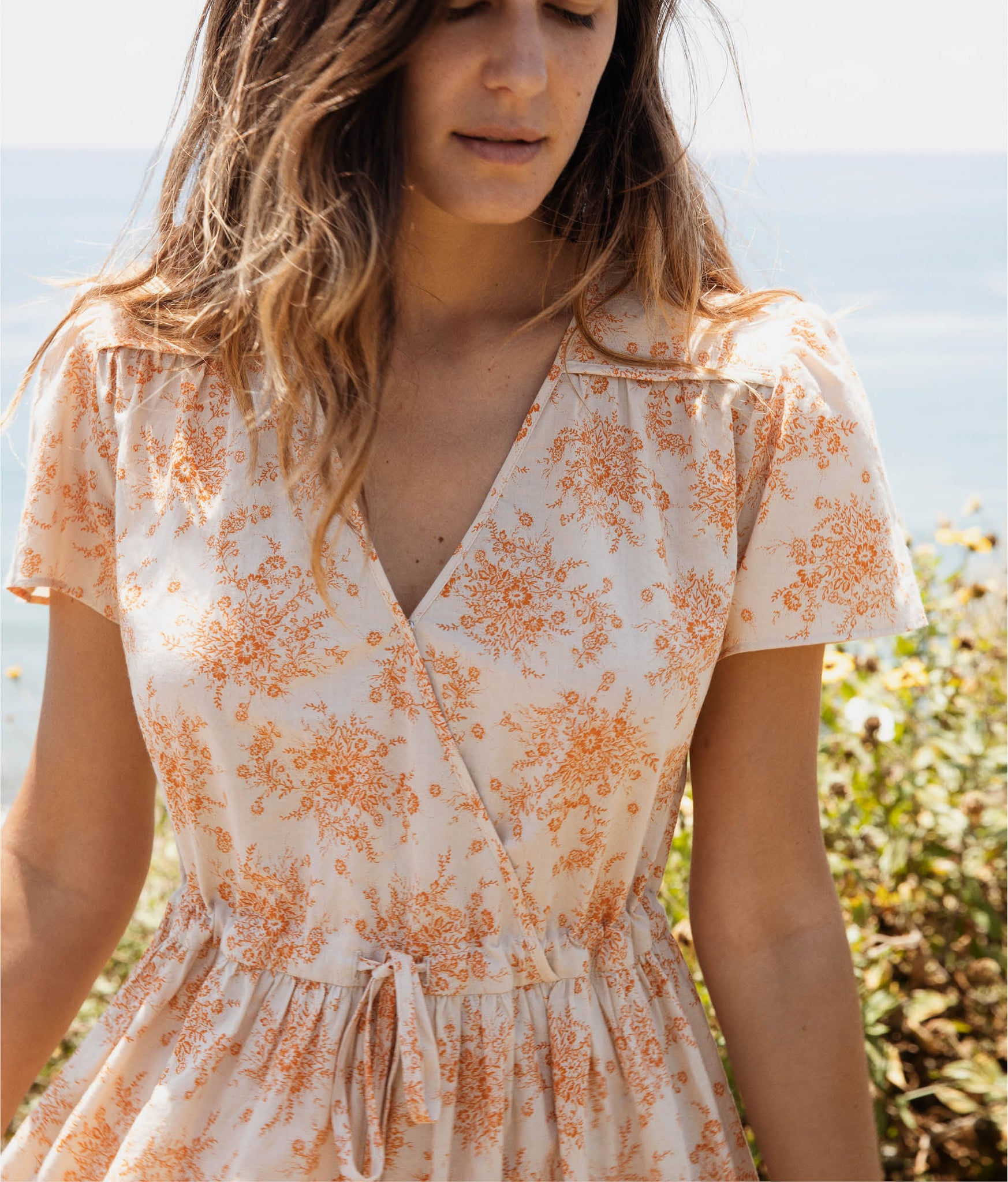 The Dawn Dress | Tangerine Garden