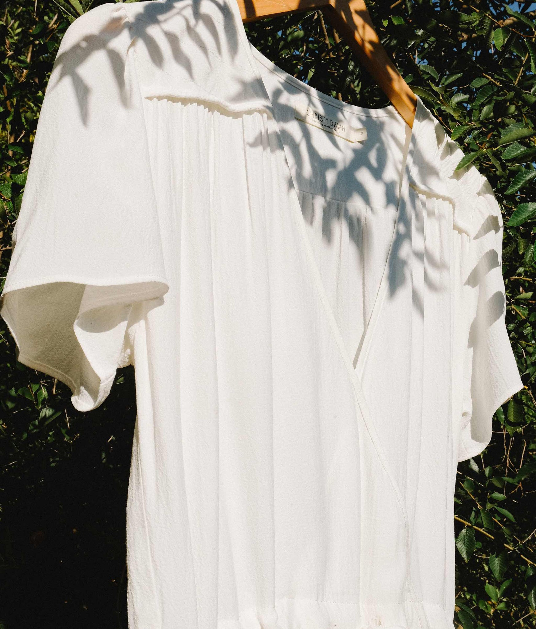 The Dawn Dress | Alabaster (1-of-a-Kind)