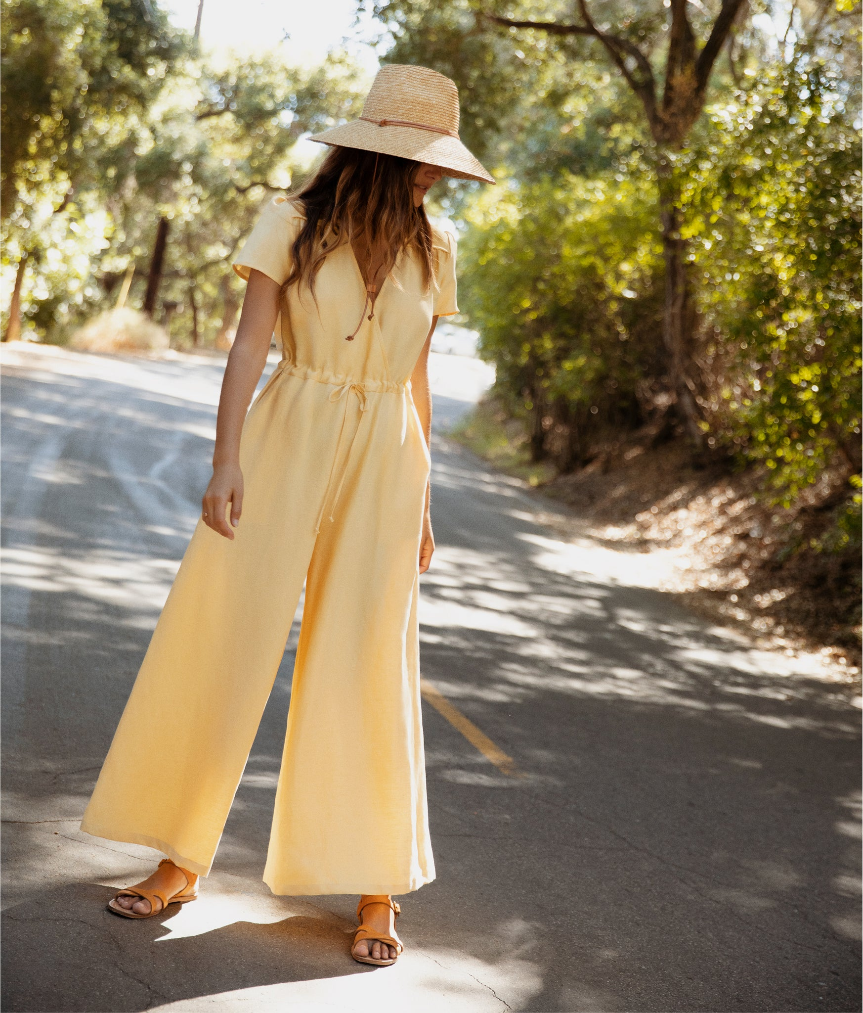 The Dawn Jumper | Butterscotch Linen