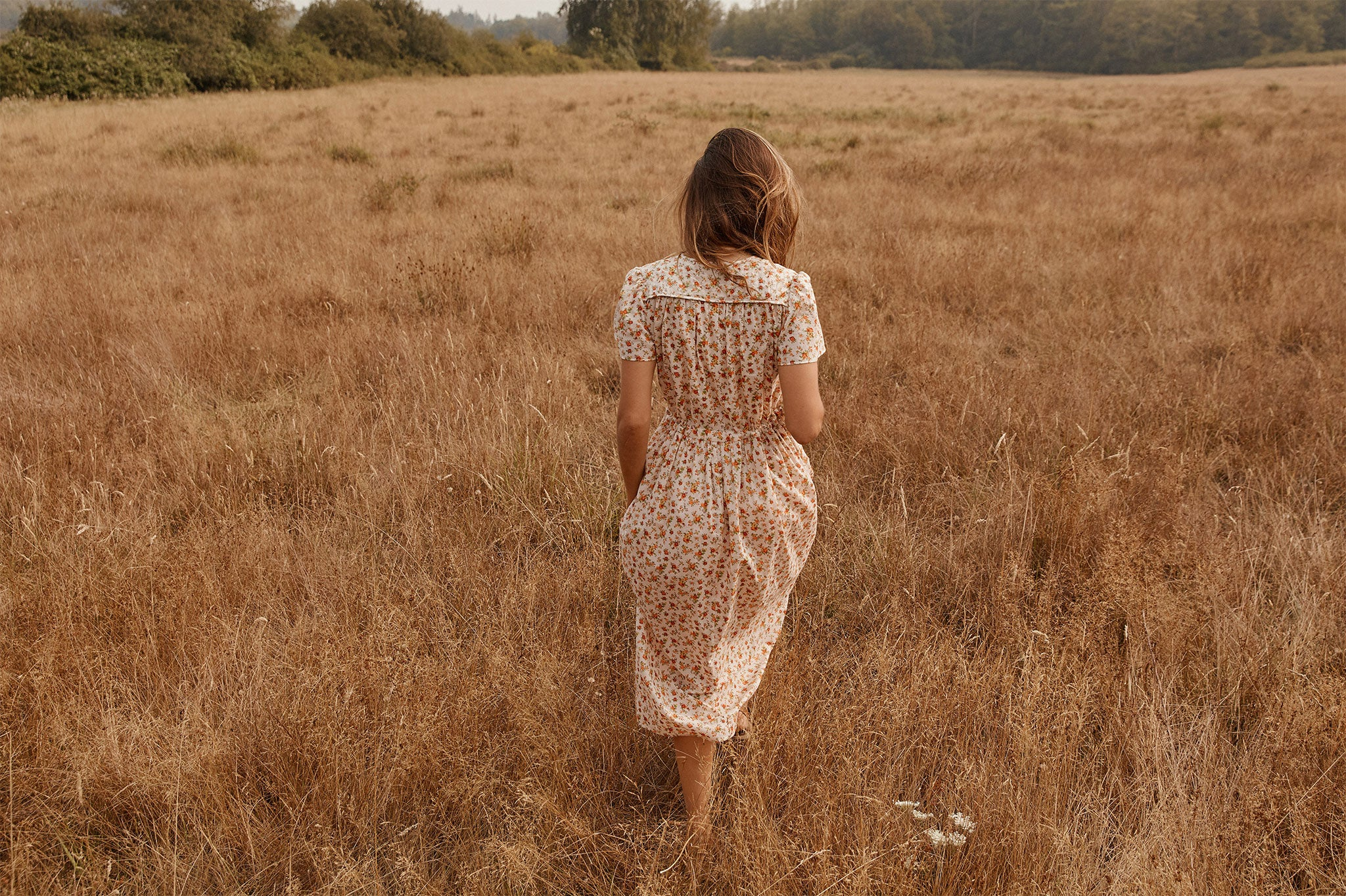 The Dawn Dress | Fall Calico (Cotton)