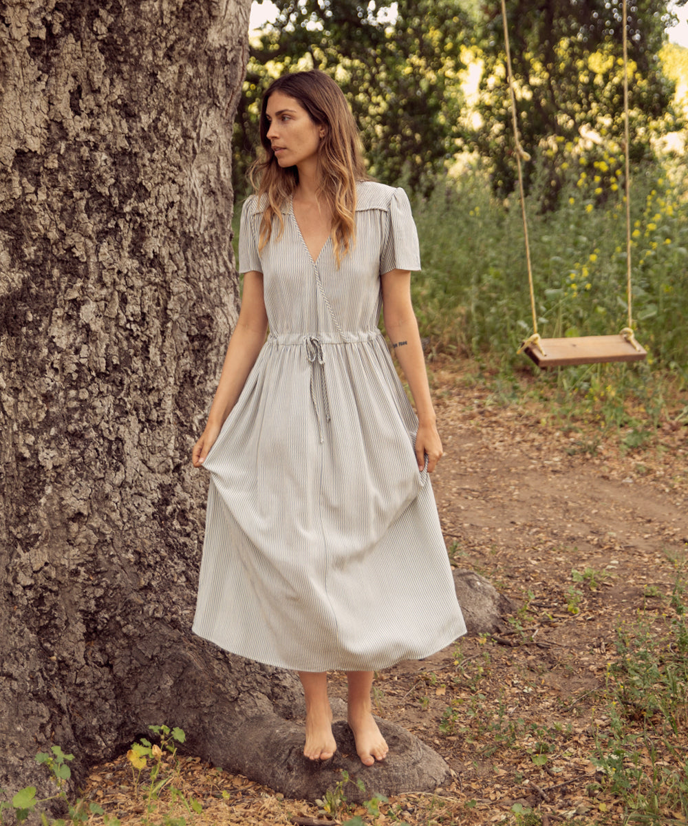 The Dawn Dress | Sea Stripe