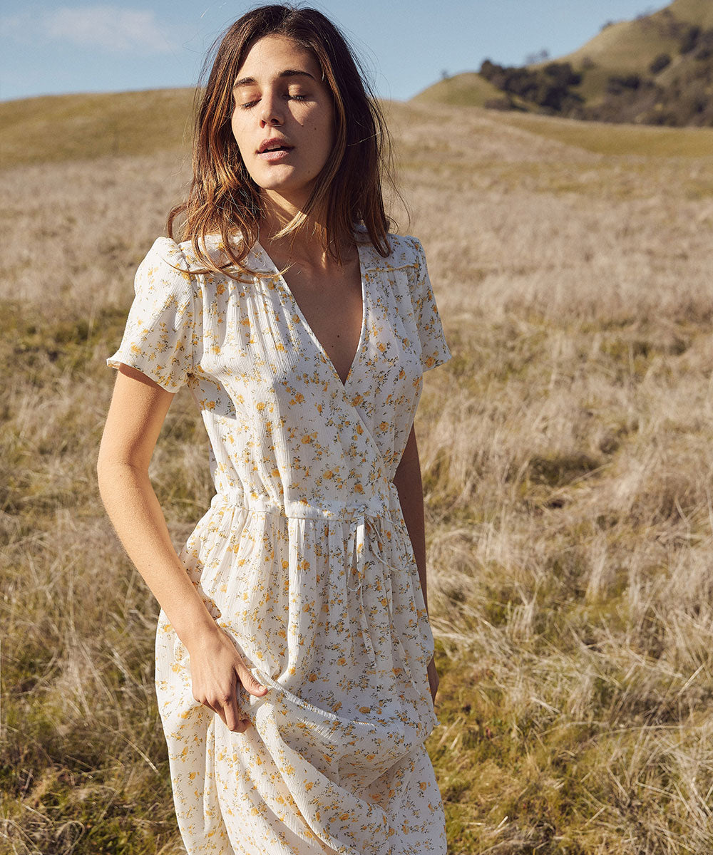 The Dawn Dress | Chamomile (Lined)