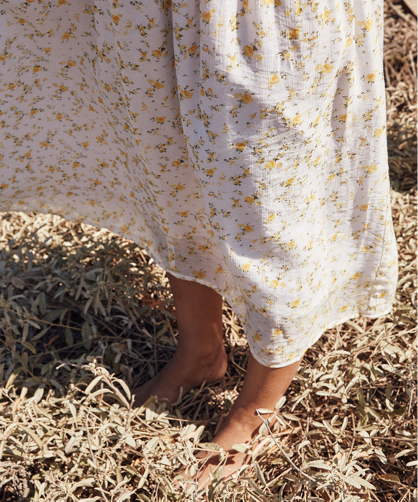The Dawn Dress Petites | Chamomile (Lined) image 11