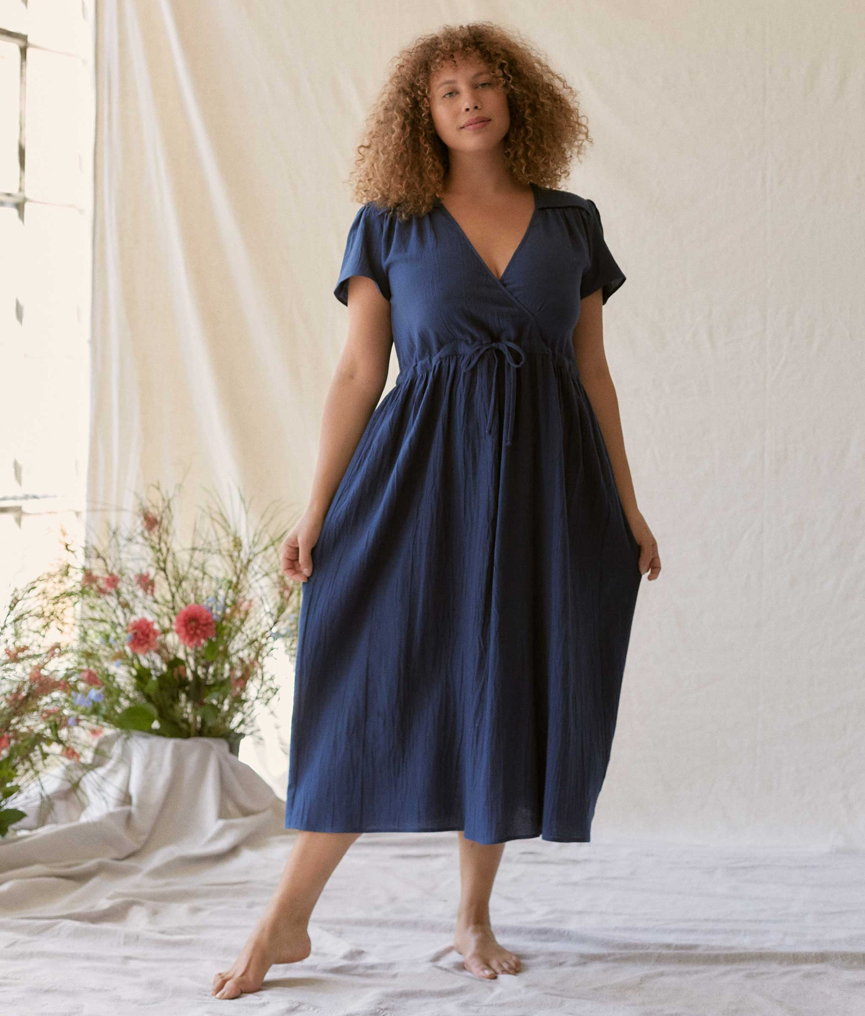 The Dawn Dress | Washed Midnight