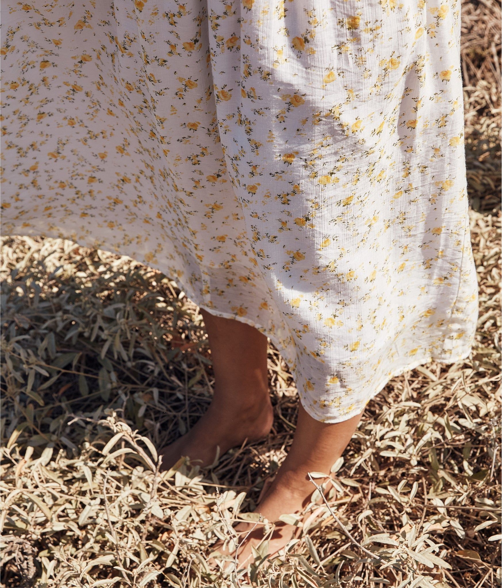 The Dawn Dress Petites | Chamomile (Lined)