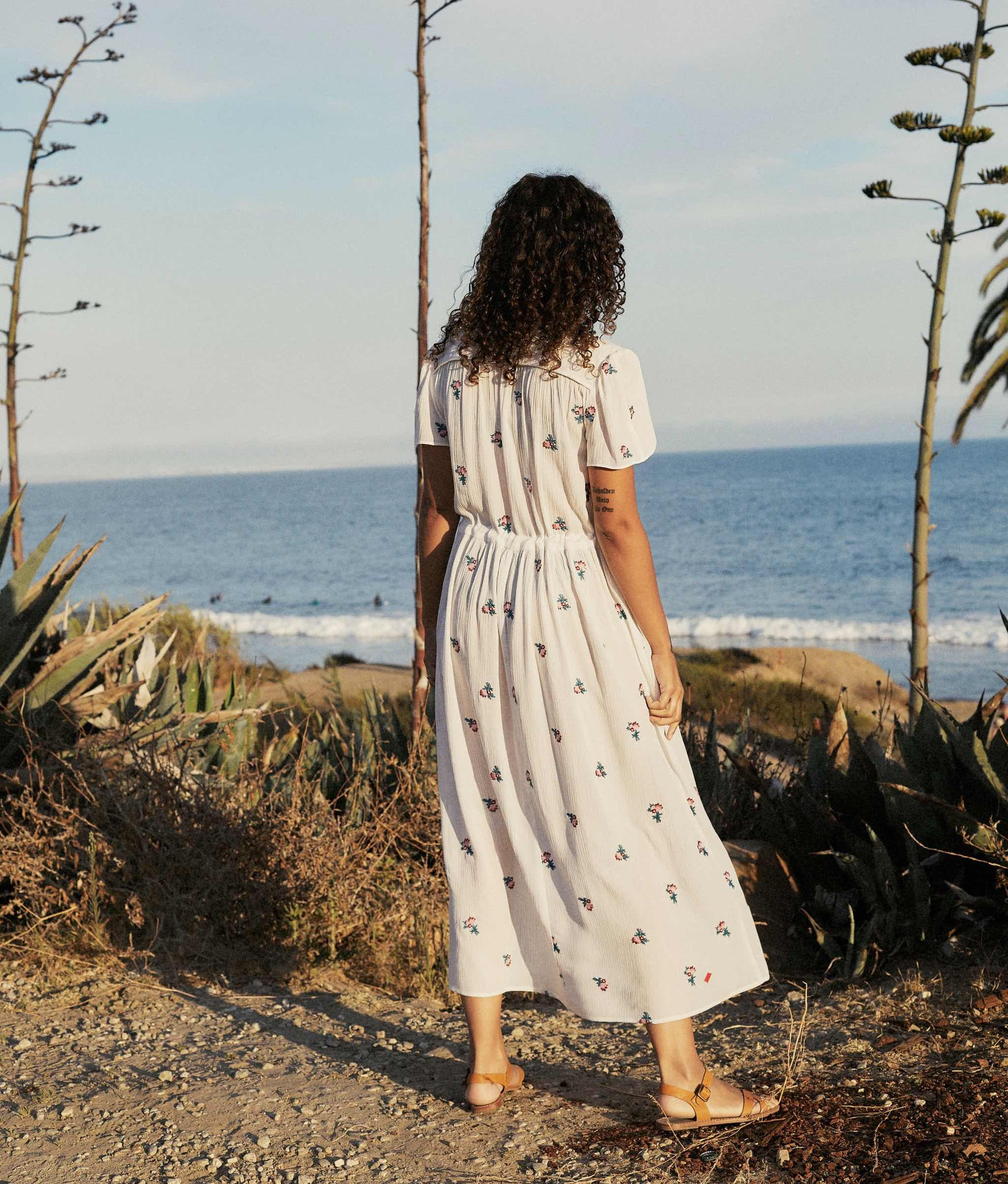The Dawn Dress | Alabaster Spray