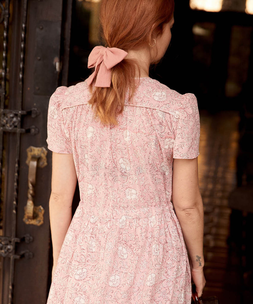 The Dawn Dress Petites | Blush Thistle image 9