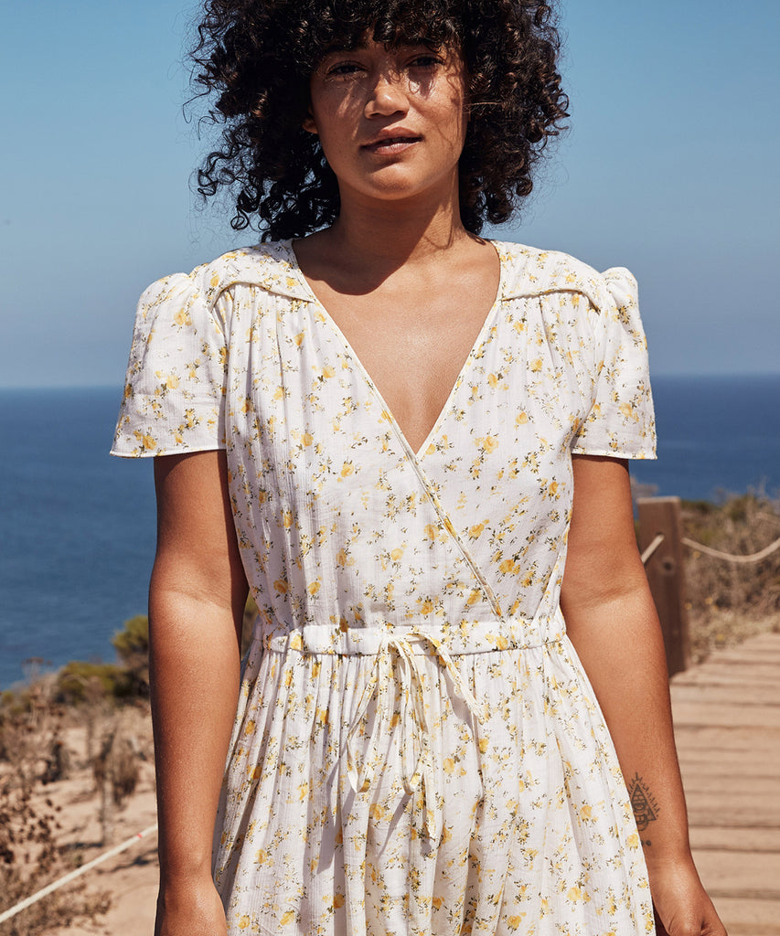 The Dawn Dress Petites | Chamomile (Lined) image 13