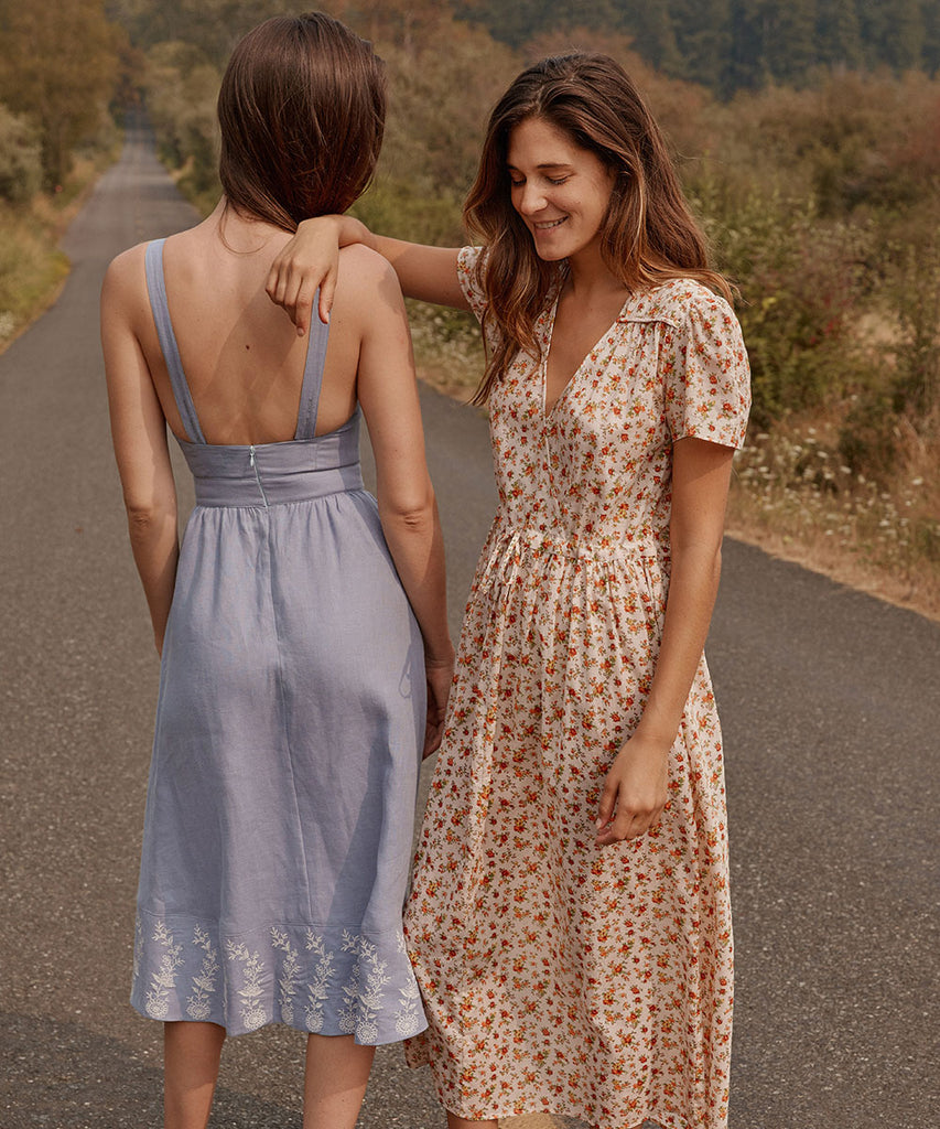 The Dawn Dress | Fall Calico image 16