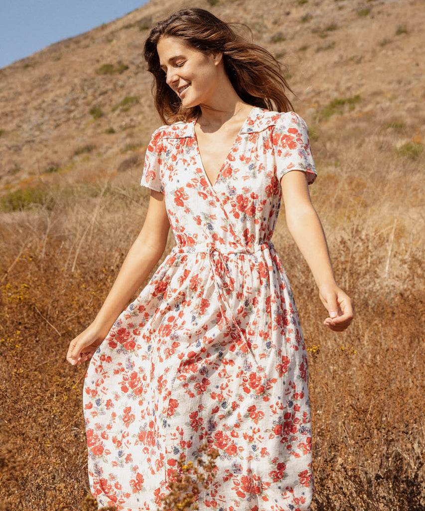 The Dawn Dress | Vermillion Bloom